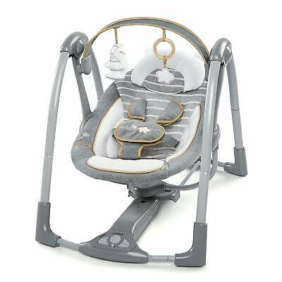 Ingenuity, Swing 'n Go Portable Swing - Boutique Collection - Bella Teddy