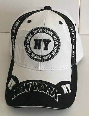 'Ny' Theme Baseball Caps One Size Fits All For Both Men And Women Brand New