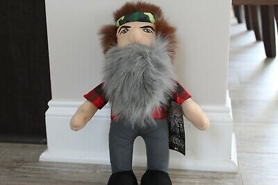 DUCK DYNASTY PHIL ROBERTSON CAMO YOUTH PLUSH SLIPPERS BEARD A/&E NEW M