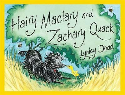 Hairy Maclary & Zachary Quack by Lynley Dodd (English) Board Books Book Free Shi