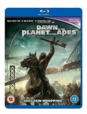 Dawn of the Planet of the Apes [Blu-ray 3D + Blu-ray]