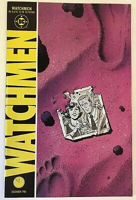 Watchmen #4 NM DC Comics 1986 Alan Moore Classic