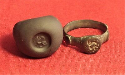 Fine Ancient Celtic Finger Ring - Rare!