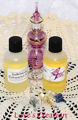 4 oz Fragrance Oils-Lot of 5 Bottles-Great For Candles/Bath & Body-Choose Scents