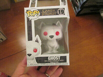 Funko Pop Game Of Thrones Ghost # 19 Hard To Find