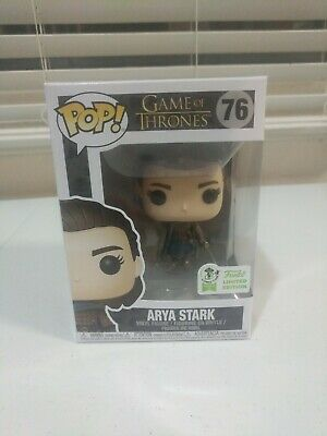 Funko Pop! Game Of Thrones Arya Stark #76 2019 ECCC Convention Official Sticker