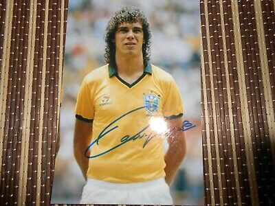 Casagrande, Brazil Footballer,  Original Hand  Signed Photo 6 x 4