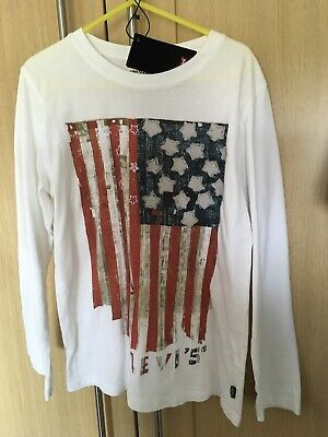 Boys LEVI's Long Sleeved Top, Age 8, Very soft cotton, NWT