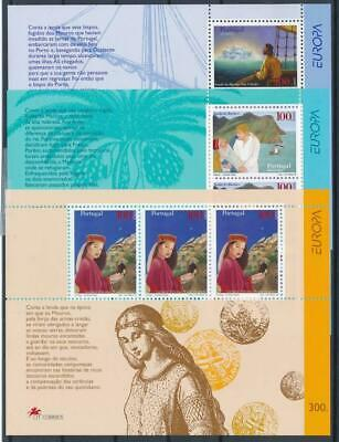 [G358241] Portugal 1997 Europa lot of 3 good sheets very fine MNH