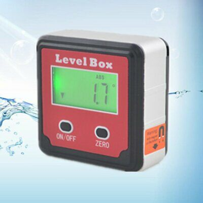 Digital Inclinometer Electron Goniometers Magnetic Base Angle Finder Bevel Box