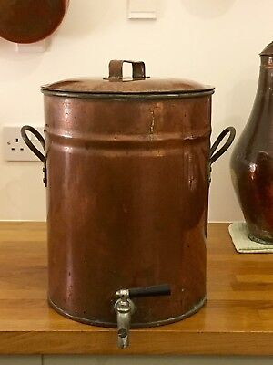 Antique Copper Kelly and Son 5 Gallon Urn