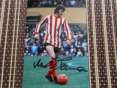 Mike Channon, Ex Southampton Footballer,  Original Hand Signed Photo 6 x 4