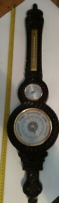 dekorative Wetterstation analog Thermometer Barometer Hygrometer Made in GDR