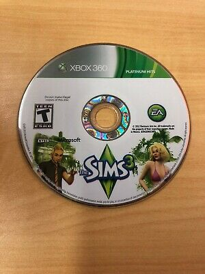 The Sims 3 (Microsoft Xbox 360, 2010) Disc Only, Free Shipping