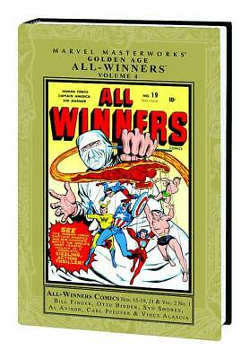 MARVEL MASTERWORKS -  GOLDEN AGE ALL WINNERS HC VOL 04   Retails $ 64.99