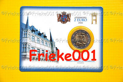 Luxemburg - Luxembourg - 2 euro 2006 comm.(Coincard)