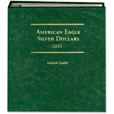 NEW Littleton Coin Album American Silver Eagle 2015-Date Archival Quality Gift