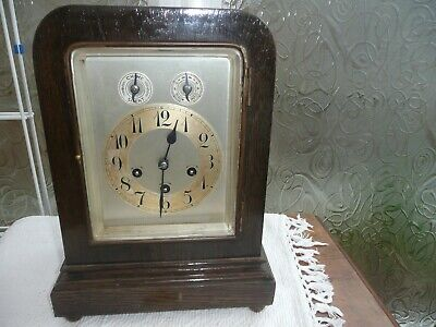 Antique, Junghans Westminster Chimes Bracket Clock , Dated 1912. Great Condition