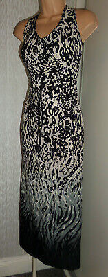Pretty Ladies Summer Holiday Long Maxi Dress Size Uk 18, Eu 46
