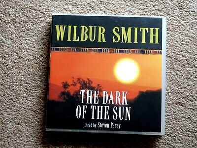 Wilbur Smith - The Dark Of The Sun  -  Audio Books -  Talking Books   ( 3 Cds  )