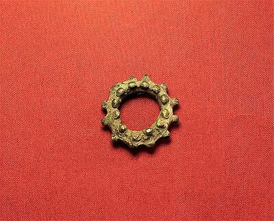 Rare Ancient Celtic Sun Amulet