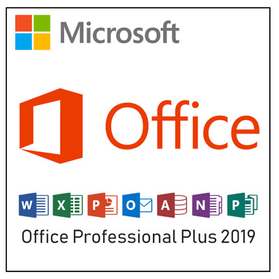 ✶ Microsoft Office Pro Professional PLUS 365 (2019) - For 5 PC - 32 & 64 BIT ✶