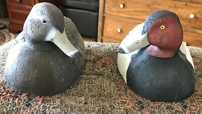 Pair of TJ Hooker Redhead Decoys Never Used Brand New 1980's Vintage