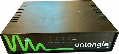 Untangle U10 NG Firewall: 4x GbE ports, 2GB RAM, 160GB HD