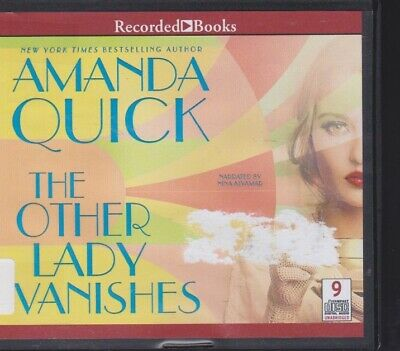 THE OTHER LADY VANISHES by AMANDA QUICK ~UNABRIDGED CD AUDIOBOOK
