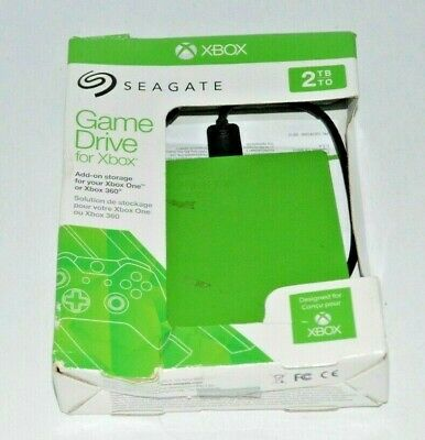 Seagate Game Drive for Xbox 2TB Green