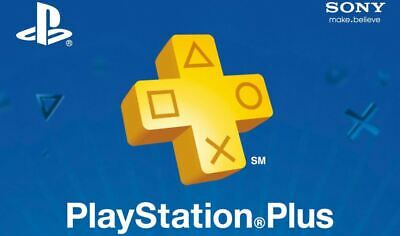 Psn Plus 3 months Play online (Ps3,Ps4, Ps vita) Shipping In 6 Minute Offer.