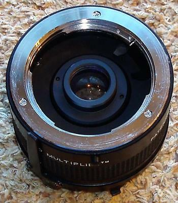 VF VIVITAR Vintage MC 70-150mm 2X MATCHED MULTIPLIER Lens MINOLTA MD Mount