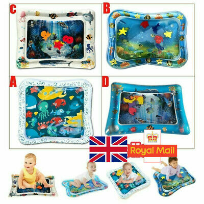 Inflatable Water Play Mat Infants Baby Toddlers Perfect Fun Tummy Time Play UK