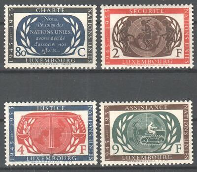 ♠ Luxembourg 1955 # 496/99 Y&T Neuf ** / Mnh      //
