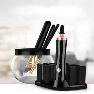 2019 Electric Makeup Brush Cleaner And Dryer Set Includes Brush Collar Stand AU