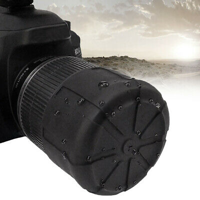Useful Silicone Protector Lens Cover Case SLR Camera Waterproof Dustproof US