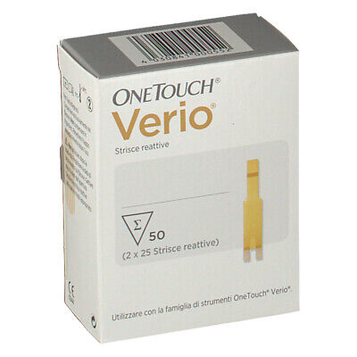 OneTouch Verio strisce reattive - 50 strisce
