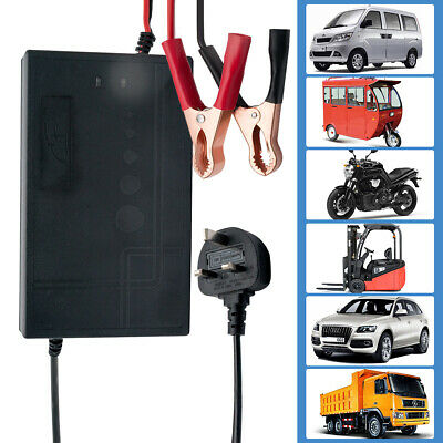 12V 10A-20A Automatic Car Motorcycle Smart Fast Trickle Battery Charger 260AH