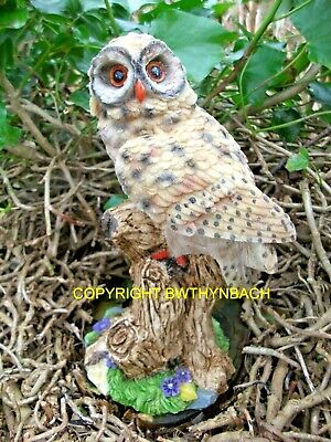 New Design Rubber Latex Mould Moulds Mold Make A Garden Ornament Owl On Branch
