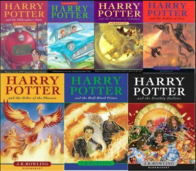 Harry Potter Audio Books (1-7); Read by Stephen Fry Audiobook 📧⚡Email 📧⚡