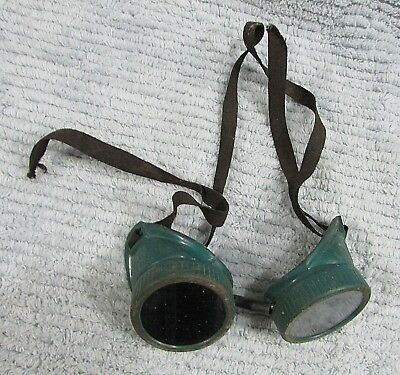 Vintage Retro Welding Goggle Steampunk Costume Iron Work Industrial Core FREE SH