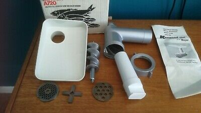 Vintage Kenwood Mincer Attachment A720 for Chef A701 A701A A702 Major A707 A717