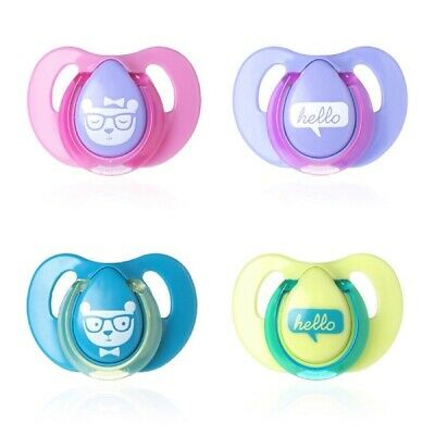 Tommee Tippee Latex Cherry Soother Twin Pack: 6-18m (Choice of Design)(A134)