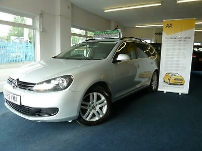 12 Reg Vw Golf 1.6 Tdi 105 Se Dsg Automatic/Tiptonic Estate, Only 99,000 Miles.