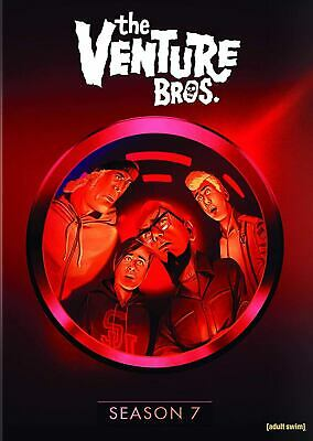 The Venture Bros. Complete 7th Seven Season 7 DVD w/LE slipbox PRESALE 06/04