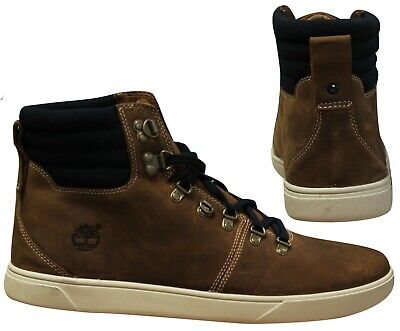 Détails sur Timberland Earthkeeper Hudston Chukka Baskets Hommes Chaussure Lacet Taupe 9643A