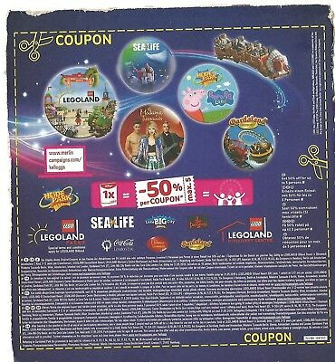 50% OFF Voucher FIVE People, Legoland Parks Europe SEALIFE, MADAME TUSSAUDS ++