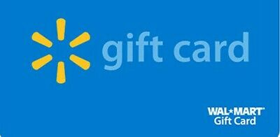 Walmart Gift Card Giftcard $200 Card in Hand New Unscratched GIFT