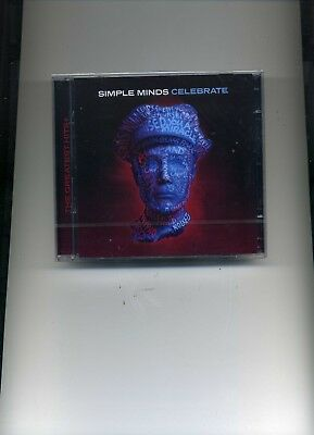 Simple Minds - Celebrate - 2 Cds - New!!