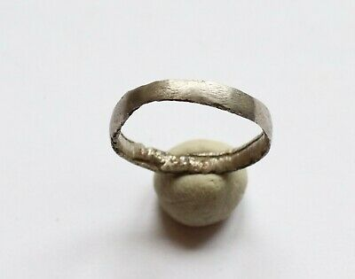 Authentic Medieval Viking Era Silver Wedding Ring